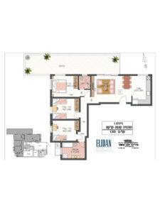 דירת גן 4 חדרים 78 מטר פלוס 30 מטר גינה בקומת קרקע